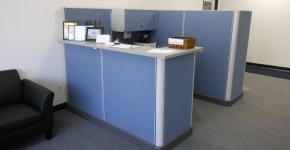 Herman Miller A01 refurbished Reception Station