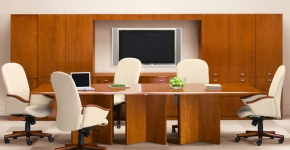 Contemporary Conference Table II Indiana Furniture