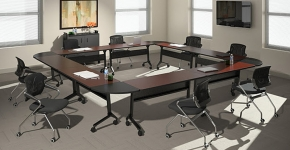 Flip-N-Go Meeting Room Table Mayline