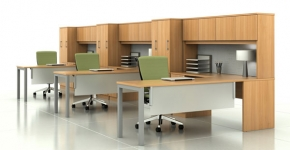 Trendway Intrisic and Trig work stations