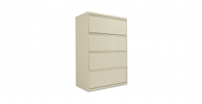 Full Pull Four Drawer Cabinet Alera United Stationers